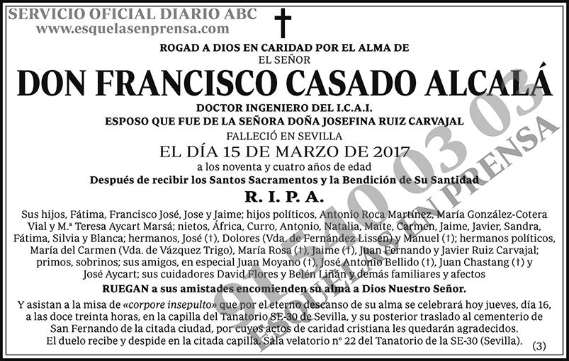 Francisco Casado Alcalá